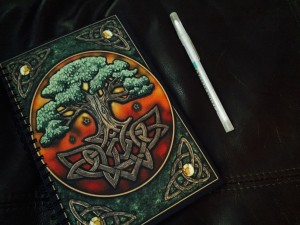 My journal was purchased at The Green Man Store in North Hollywood, CA