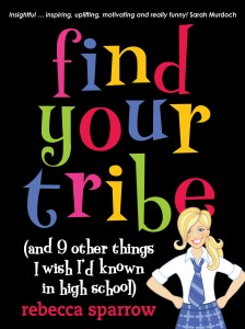 Find Your Tribe by Rebecca Sparrow - Click to Purchase on Amazon!