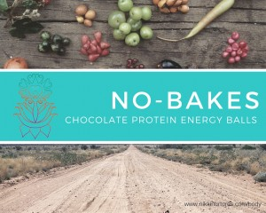 No-Bakes_Chocolate Protein Energy Balls - Nikki Nurtures Recipe