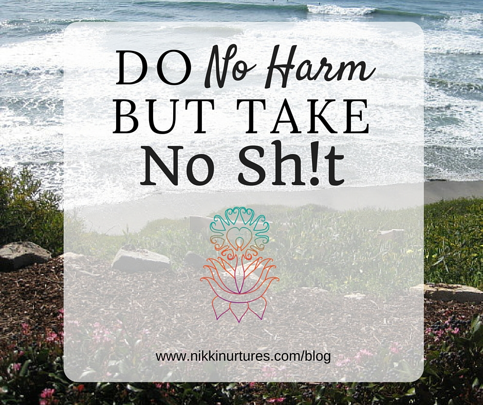 Do No Harm But Take No Sh!t
