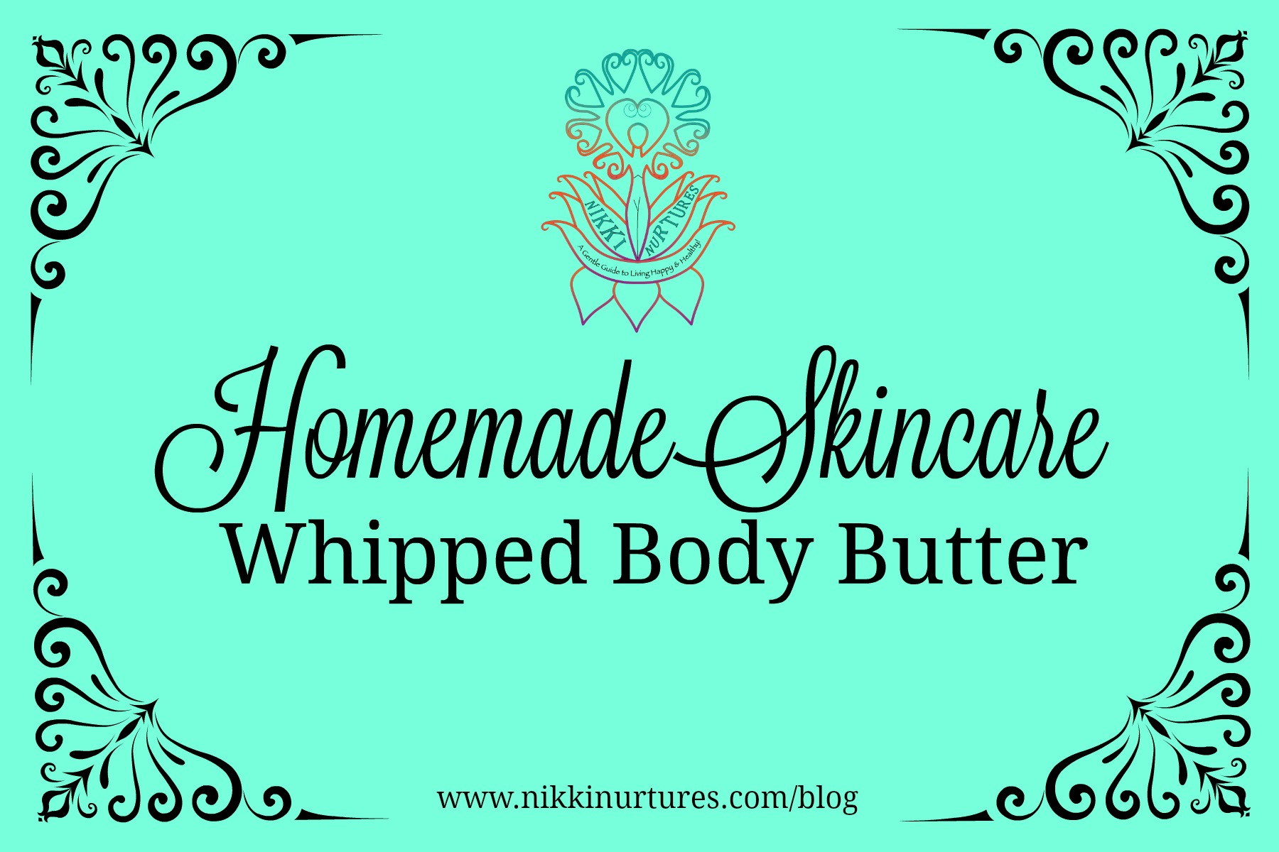 Homemade Skincare: Whipped Body Butter Recipe