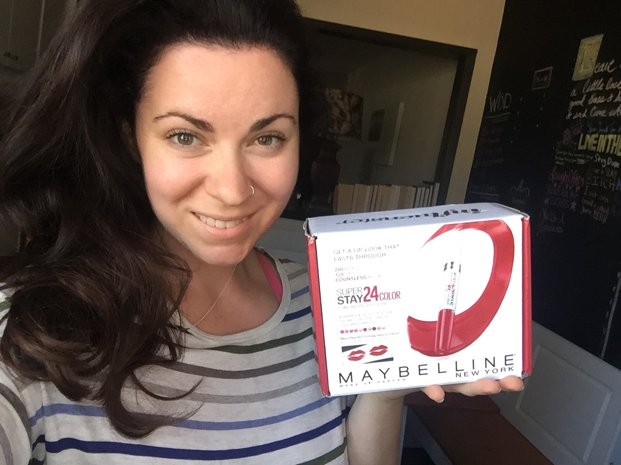Influenster Maybelline Super Stay 24 Vox Box Review