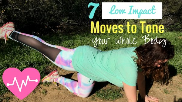 7 Low Impact Moves to Tone Your Whole Body