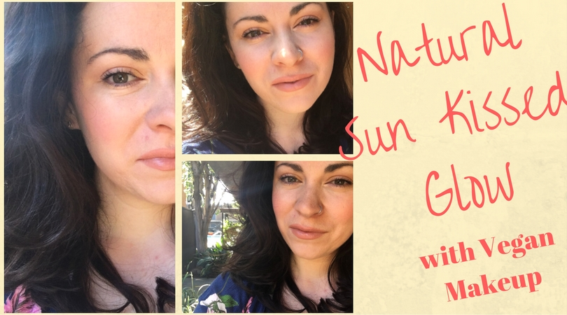 Get the Look: Natural Sun Kissed Glow Using Vegan Makeup