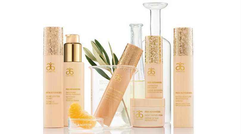 At Home Facial: Arbonne's RE9 Anti-Aging Skincare Review