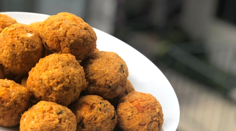 Not Your Nona's Meatless Balls