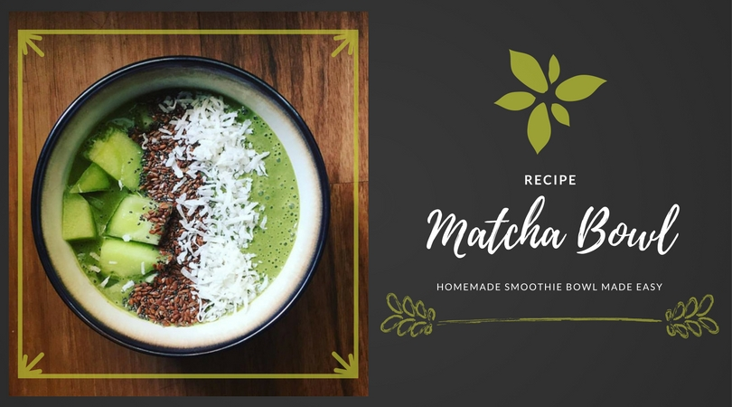 Matcha Smoothie Bowl Recipe