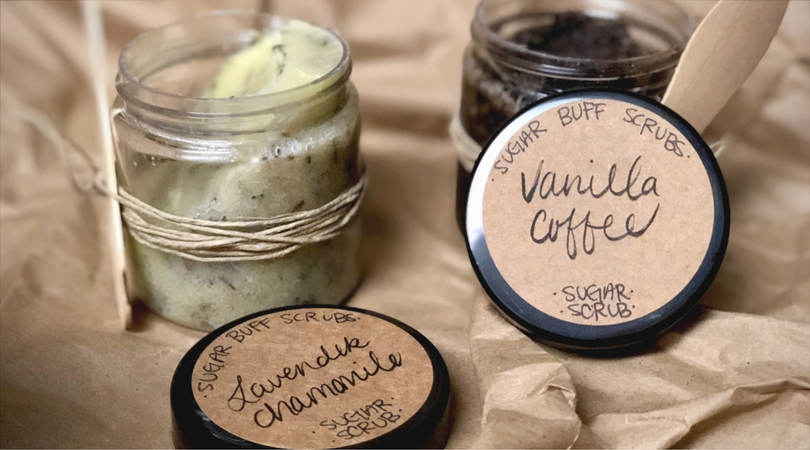 Small Business Spotlight | Sugar Buff Scrubs: All-Natural, Essential Oil Infused Sugar Scrubs