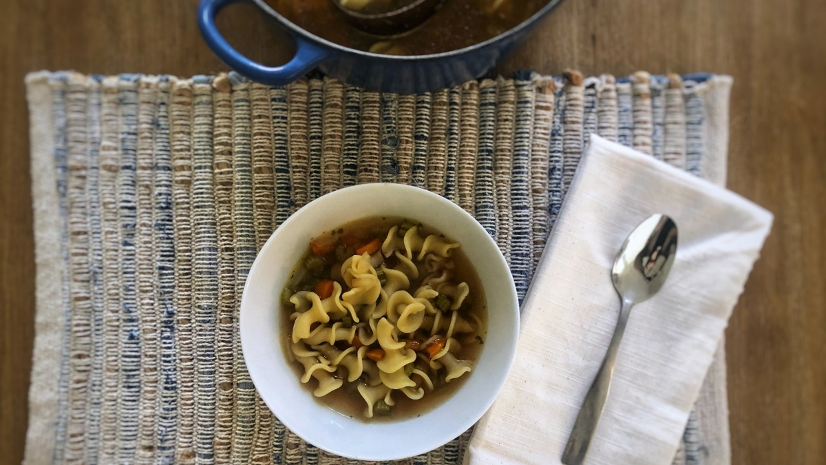 Chickenless Noodle Soup is the Only Thing You Need to Stay Warm and Cozy this Winter