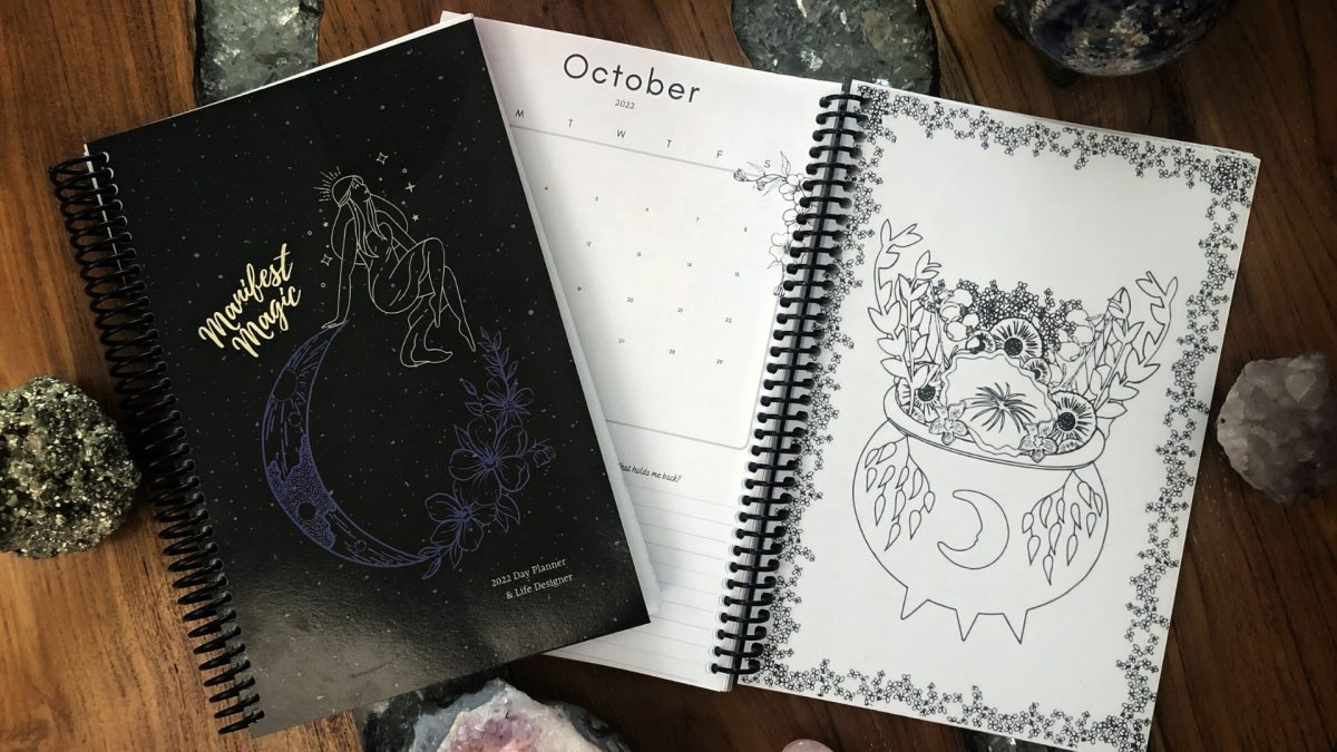 The 2022 Manifest Magic Day Planner & Life Designer is Here!